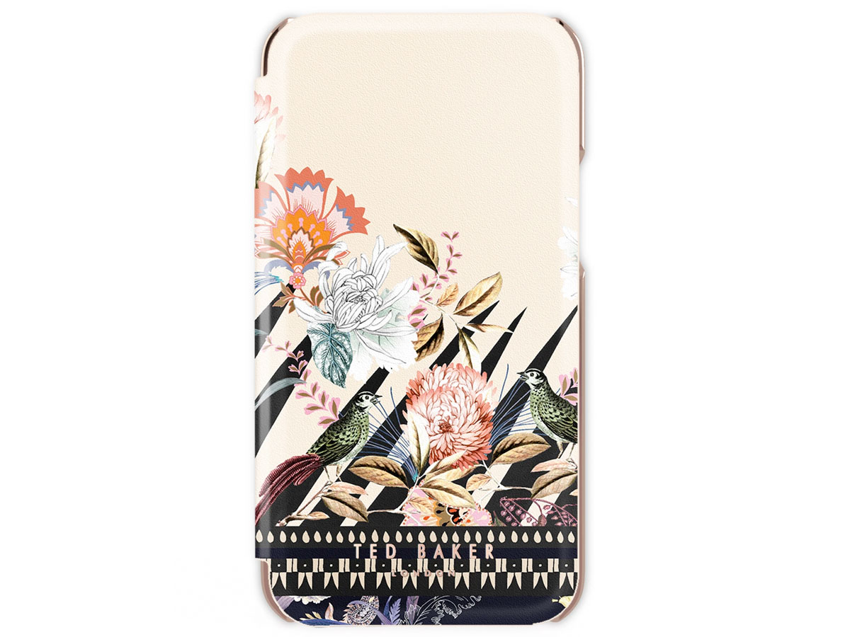 Ted Baker Decadence Folio Case - iPhone SE 2020/8/7/6 hoesje Bloemen Print