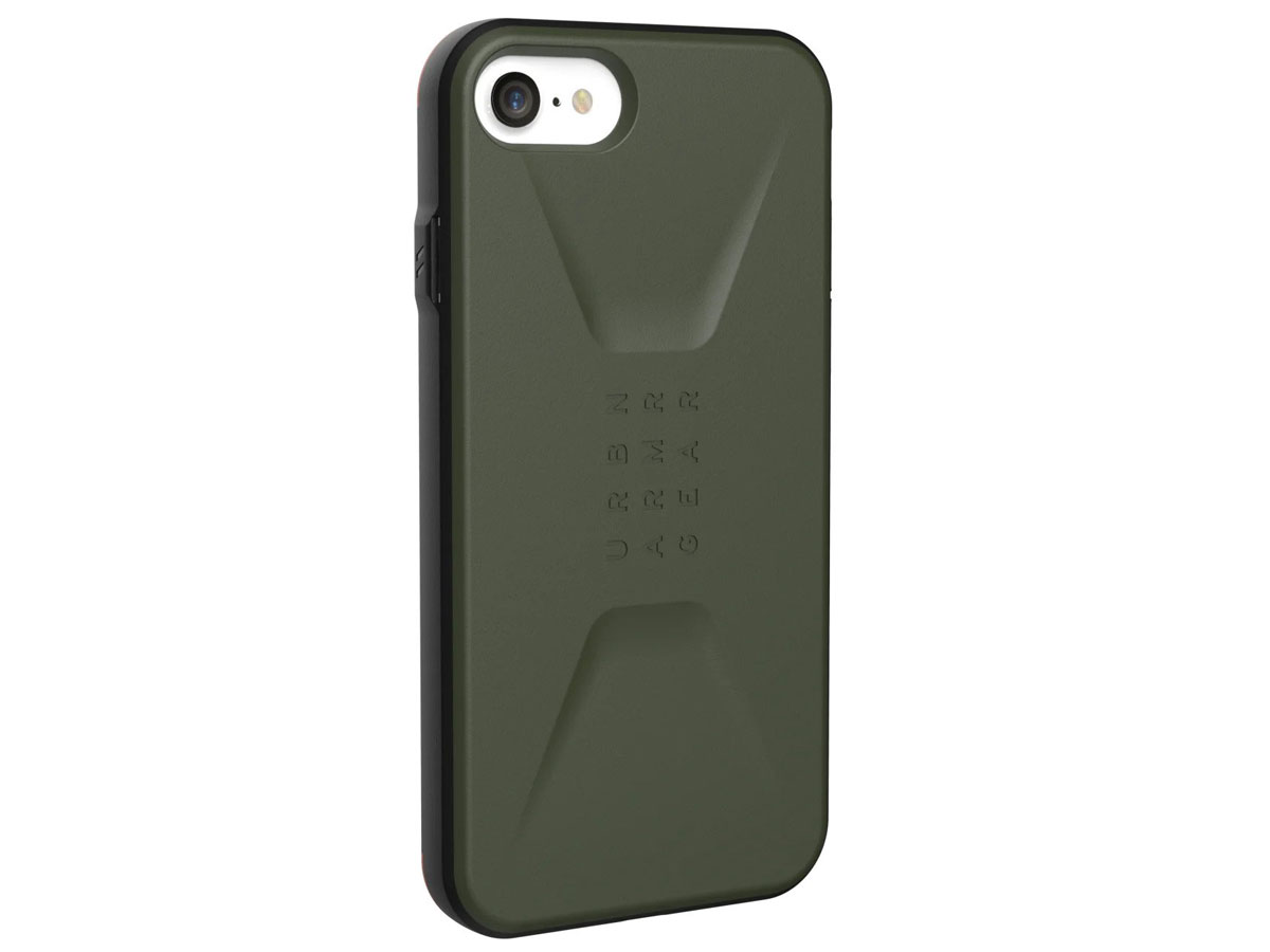 Urban Armor Gear Civilian Groen - iPhone SE 2020 / 8 / 7 / 6(s) hoesje