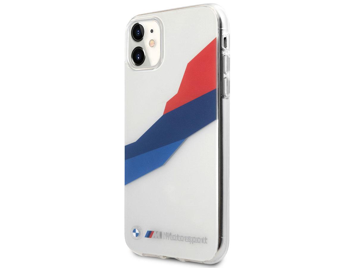 BMW M Motorsport Tricolor TPU Case - iPhone 11/XR Pro hoesje