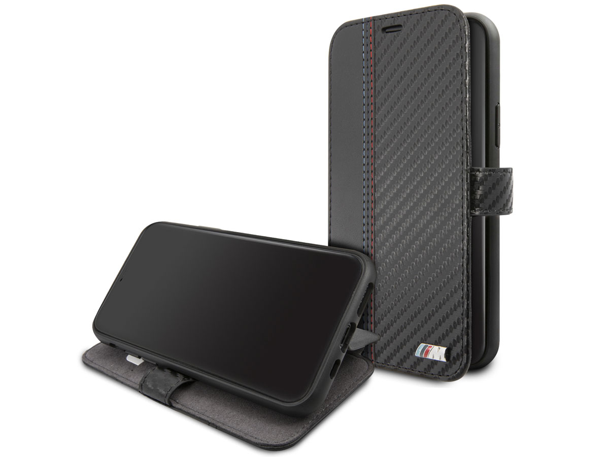 BMW M Sport Stitched Bookcase - iPhone 11 hoesje