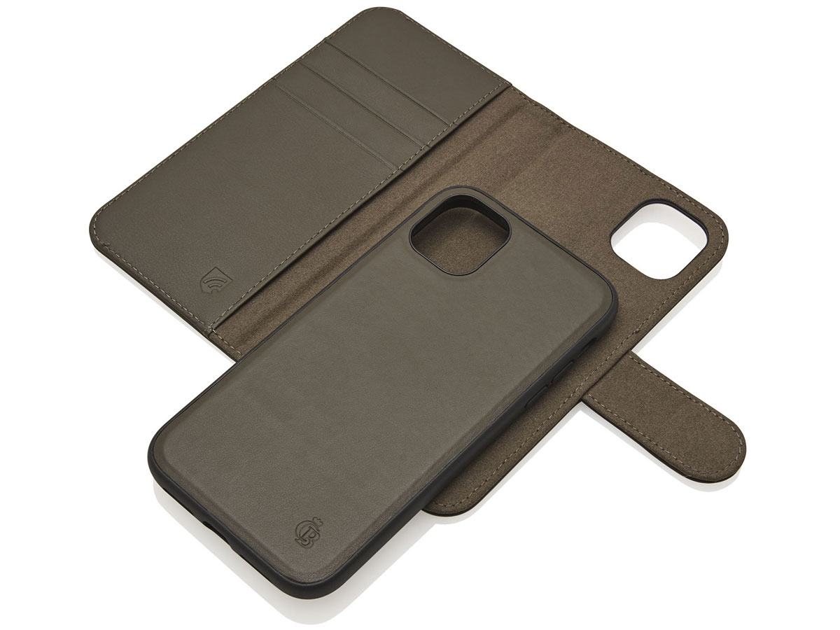 Castelijn & Beerens 2in1 Wallet Groen Leer - iPhone 11/XR hoesje