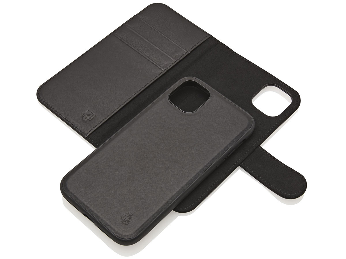 Castelijn & Beerens 2in1 Wallet Zwart Leer - iPhone 11/XR hoesje