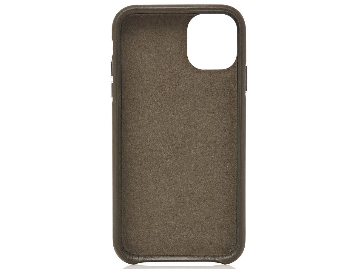 Castelijn & Beerens Back Case Groen Leer - iPhone 11/XR hoesje