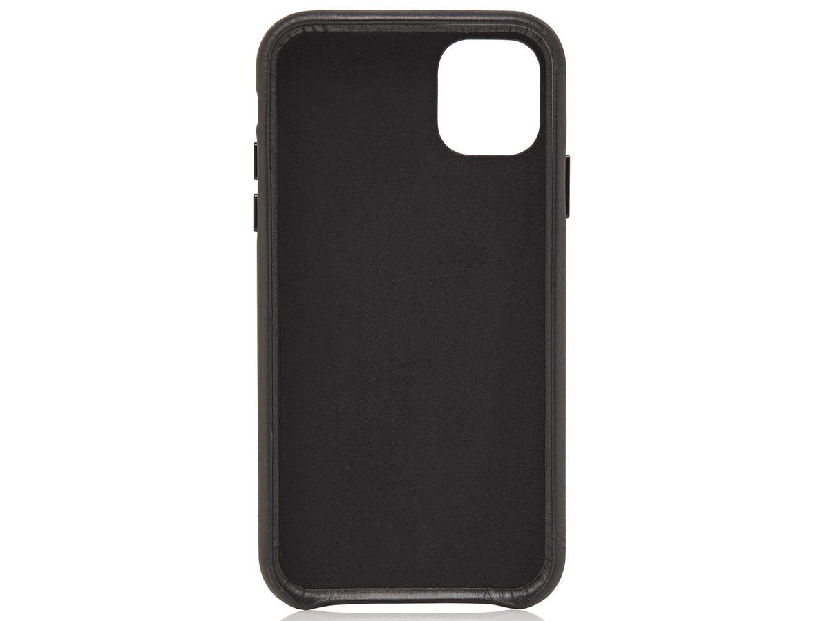 Castelijn & Beerens Back Case Zwart Leer - iPhone 11/XR hoesje