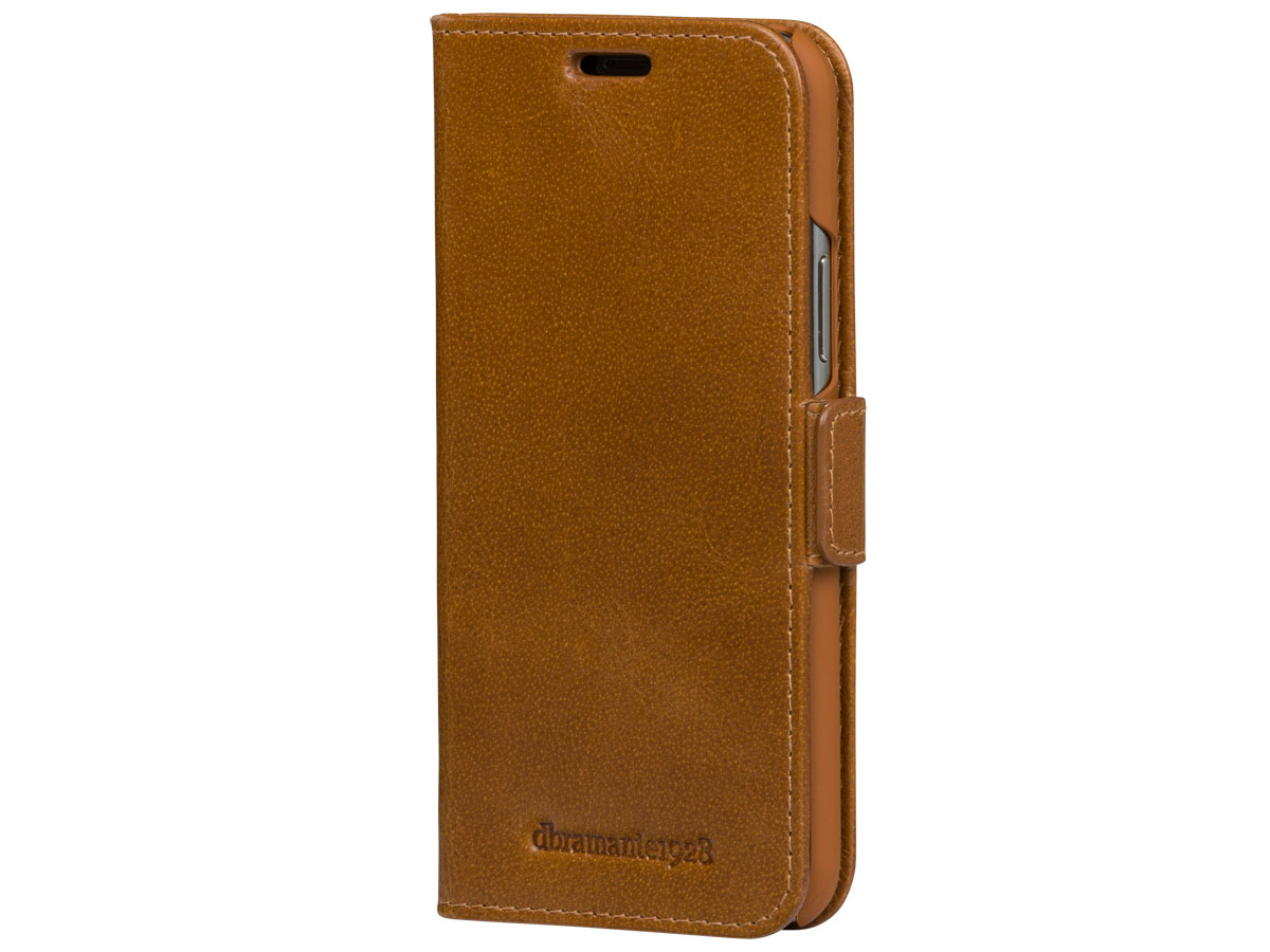 dbramante1928 Copenhagen Slim Tan - iPhone 11 hoesje Cognac
