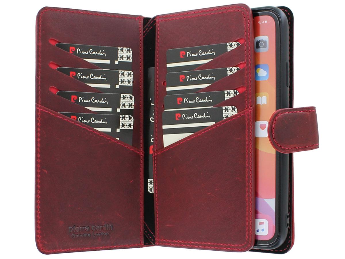 Pierre Cardin True Wallet Rood Leer - iPhone 11 hoesje