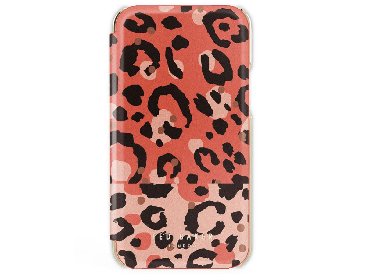 Ted Baker Candy Leopard Folio Case - iPhone 11/XR hoesje Roze