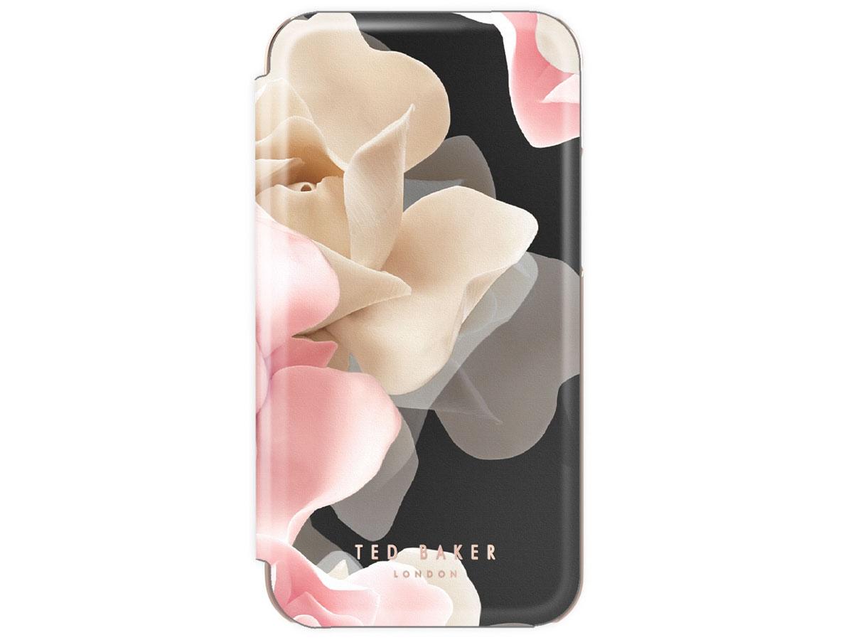 Ted Baker Porcelain Rose Folio Case - iPhone 11/XR hoesje Zwart