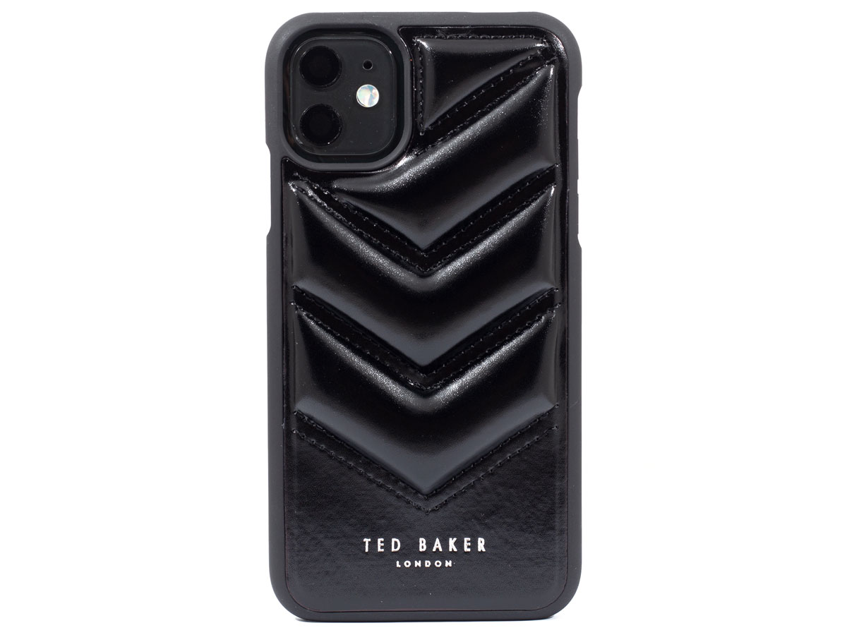 Ted Baker Quilted Case - iPhone 11/XR Hoesje Zwart