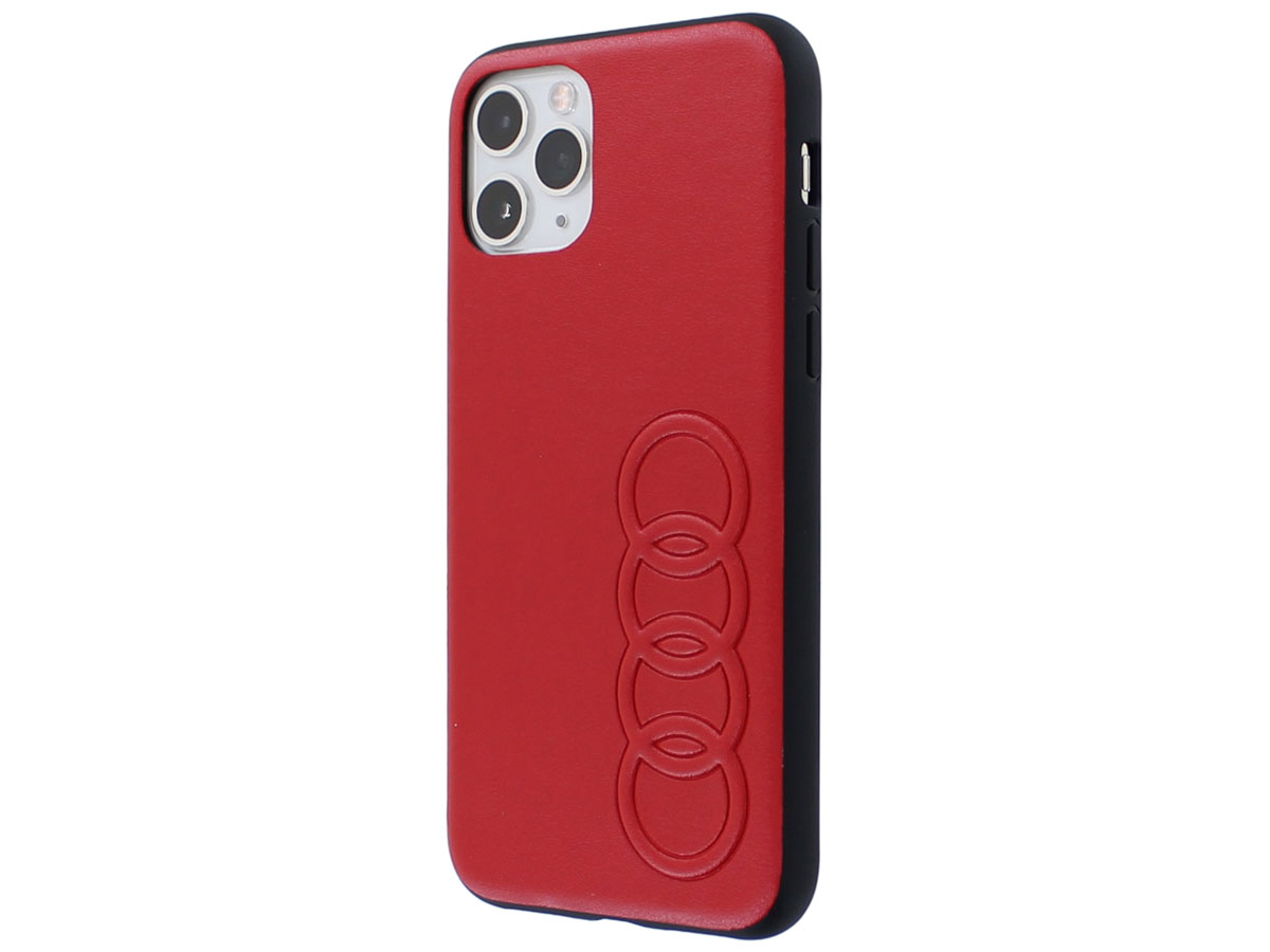 Audi TT Series Hard Case Rood - iPhone 11 Pro hoesje