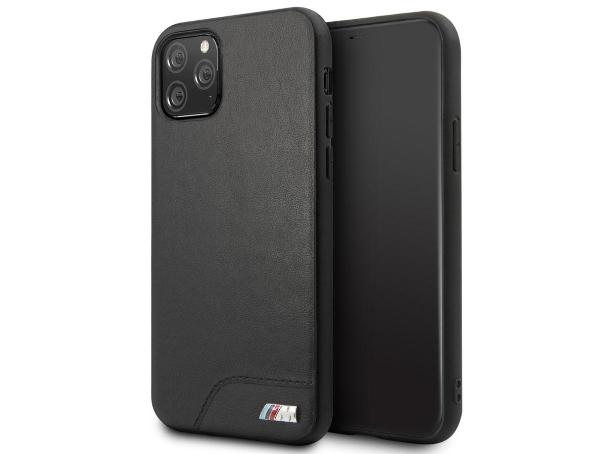 BMW M Hard Case Zwart - iPhone 11 Pro hoesje