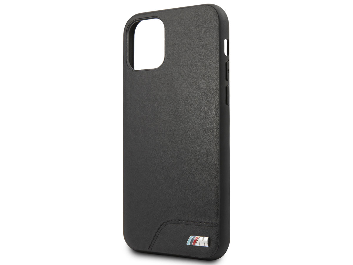 BMW M Hard Case Zwart - iPhone 11 Pro hoesje