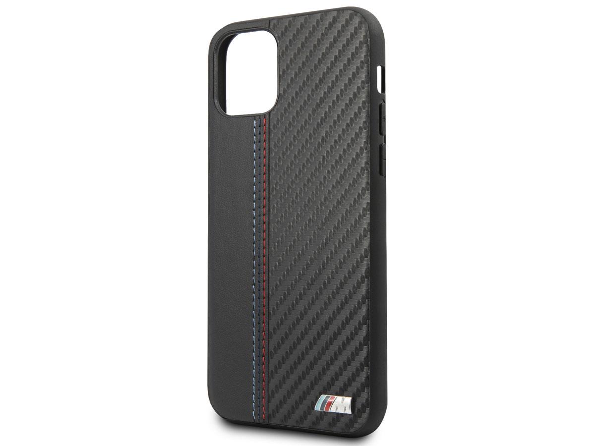 BMW M Sport Stitched Case Zwart - iPhone 11 Pro hoesje