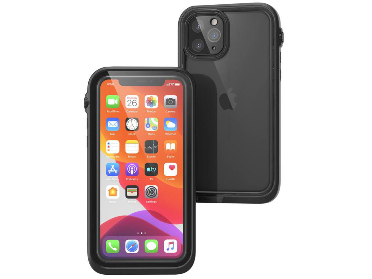 Catalyst Case - Waterdicht iPhone 11 Pro hoesje Zwart