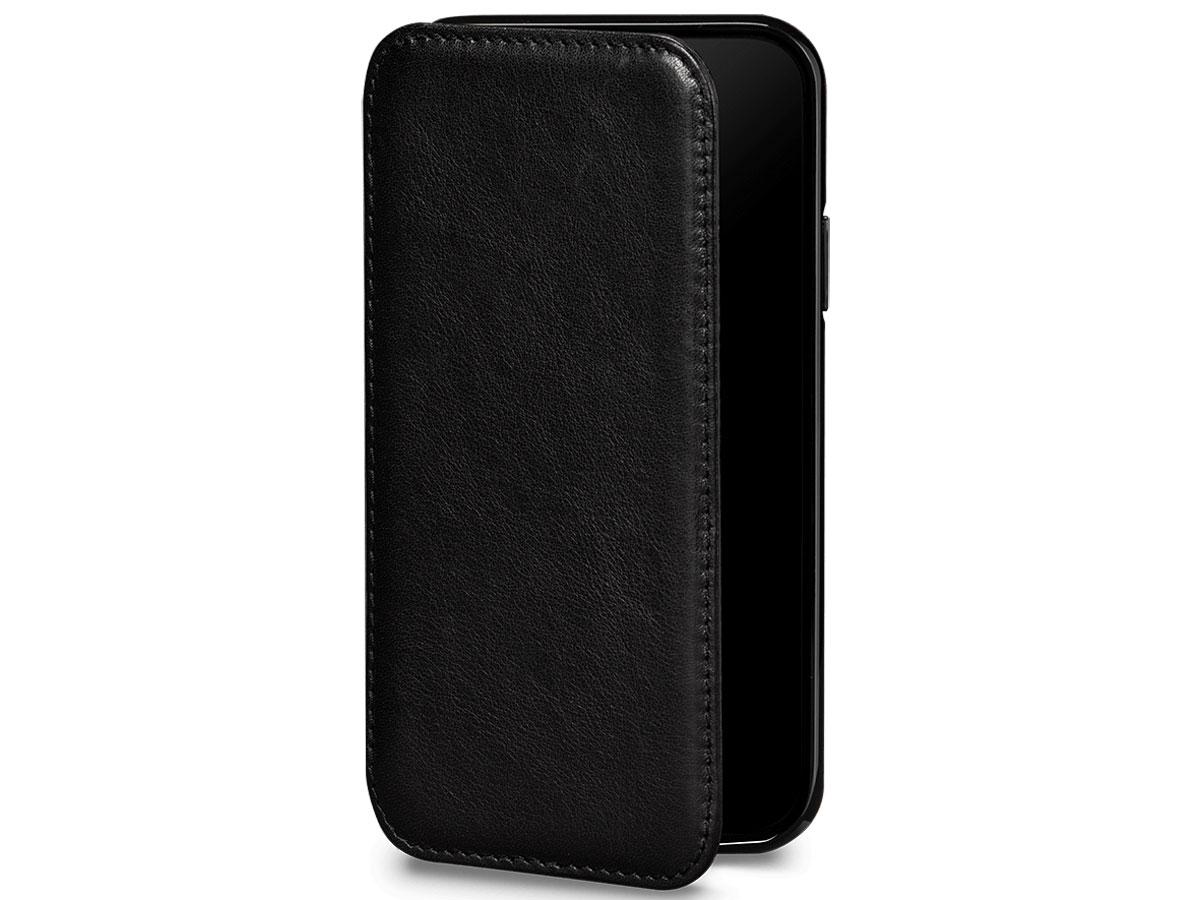 Sena Wallet Book Zwart - iPhone 11 Pro Hoesje Leer