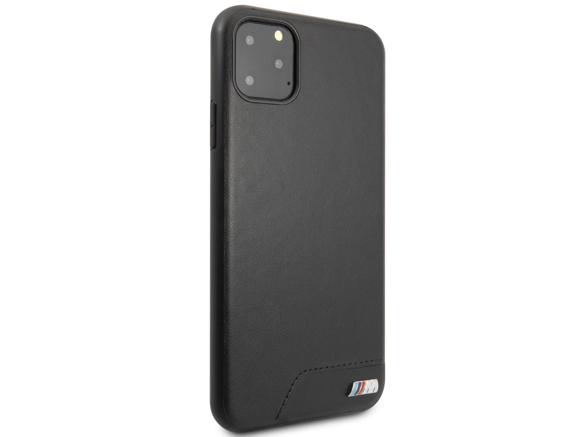 BMW M Hard Case Zwart - iPhone 11 Pro Max hoesje