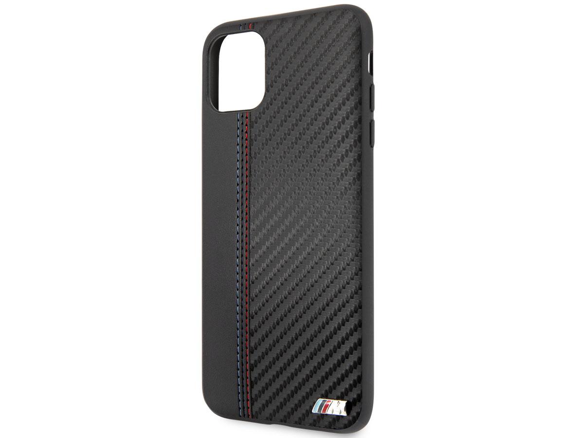 BMW M Sport Stitched Case Zwart - iPhone 11 Pro Max hoesje