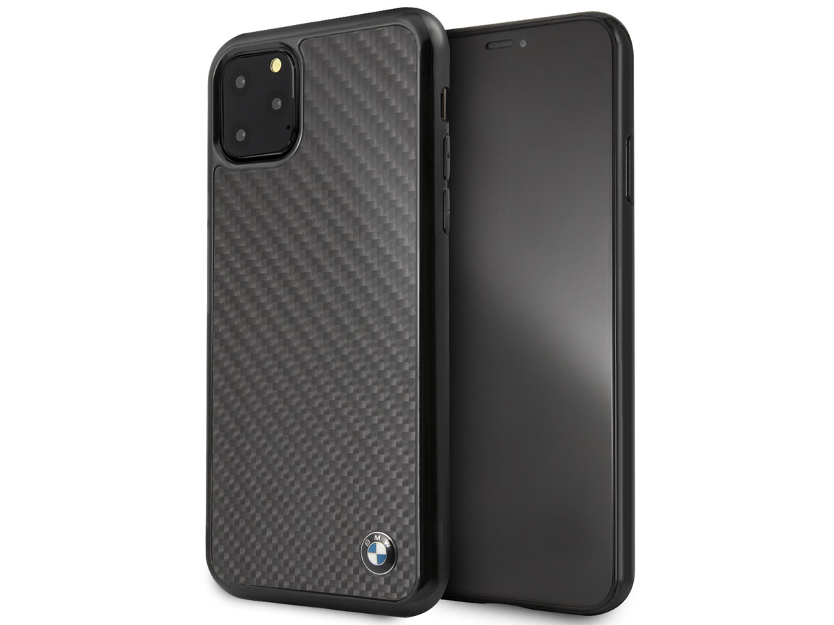 BMW Signature Carbon Fiber Case - iPhone 11 Pro Max hoesje