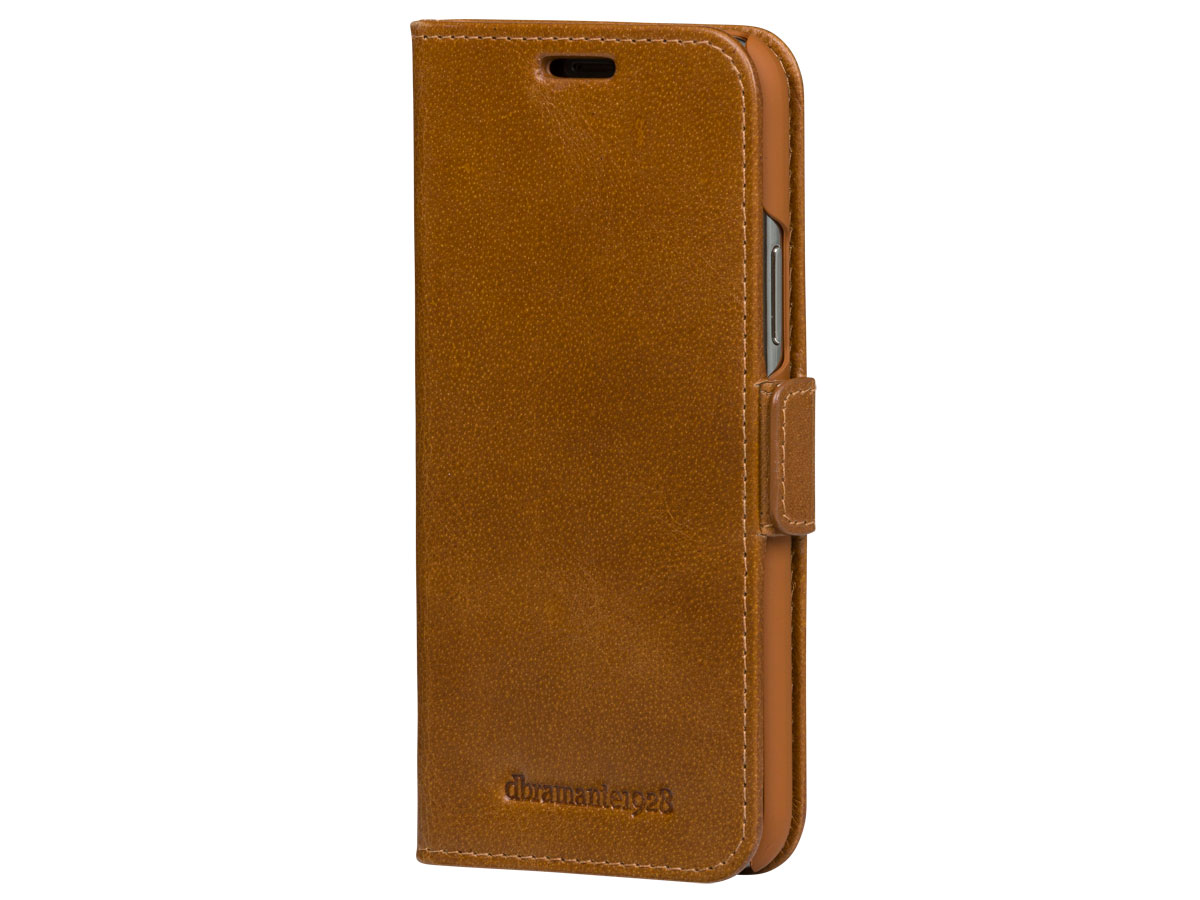 dbramante1928 Copenhagen Plus Tan - iPhone 11 Pro Max hoesje Cognac