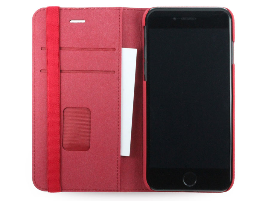 adidas Bohemian Red Booklet Case - iPhone SE 2020 / 8 / 7 hoesje
