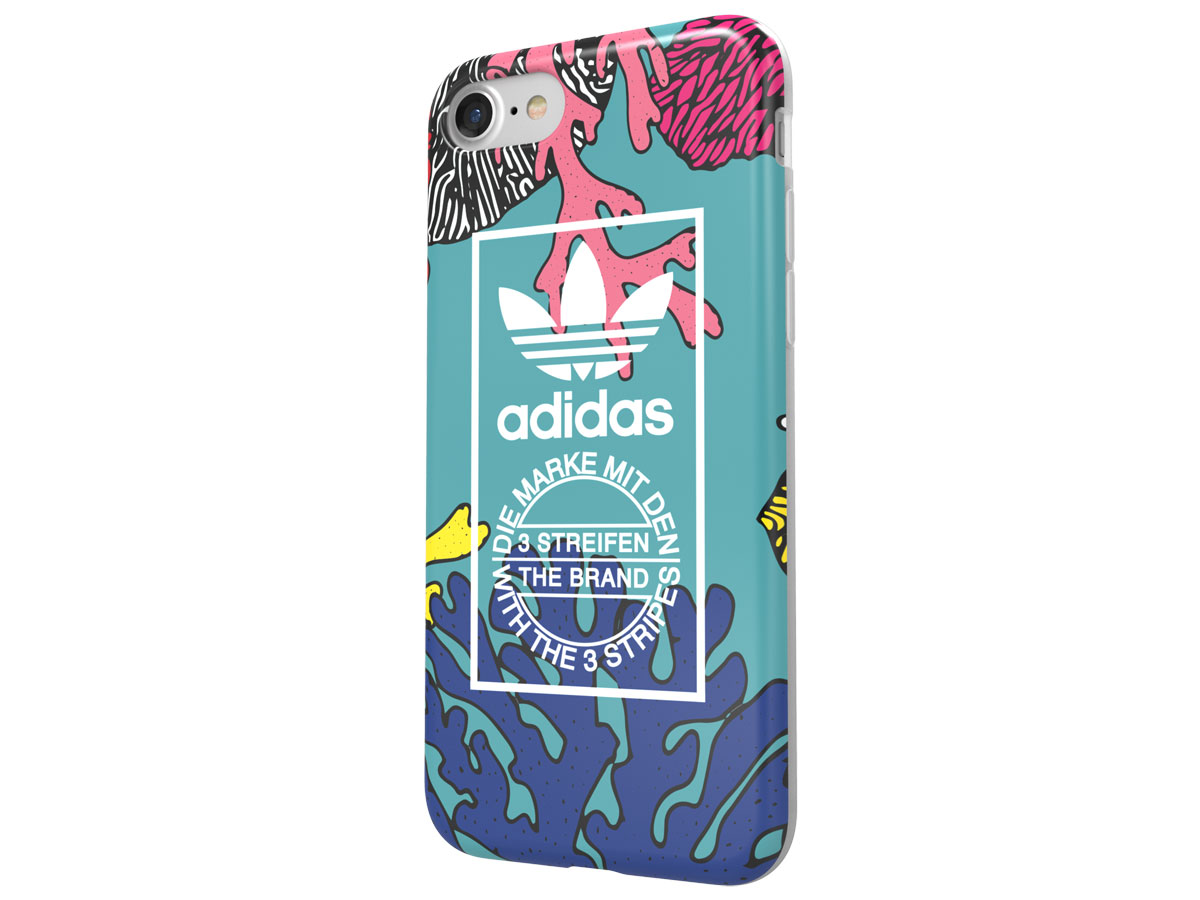 adidas Originals Coral Graphic Case - iPhone 8/7 hoesje