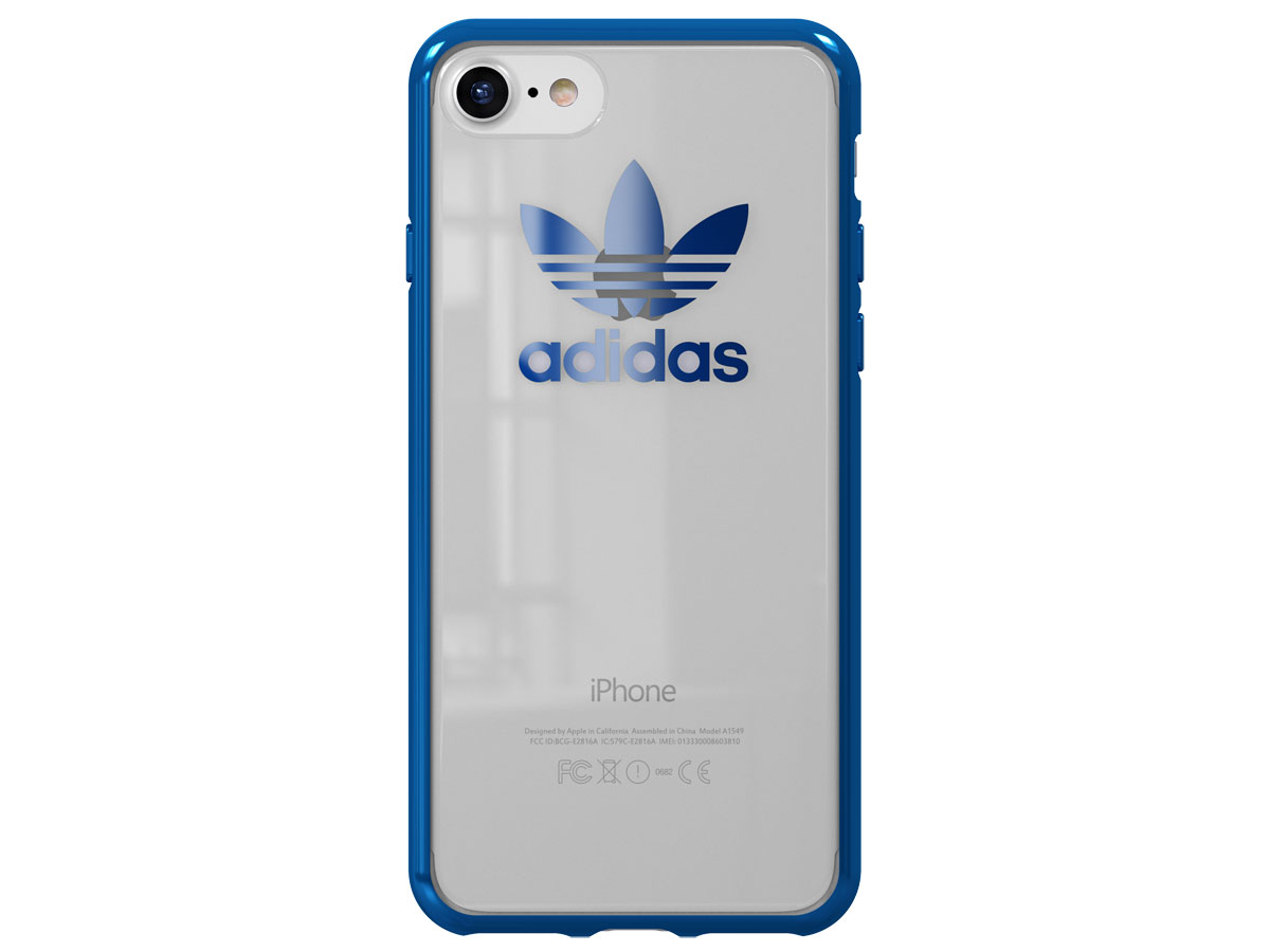 adidas Originals Crystal TPU Blauw - iPhone 8/7 hoesje