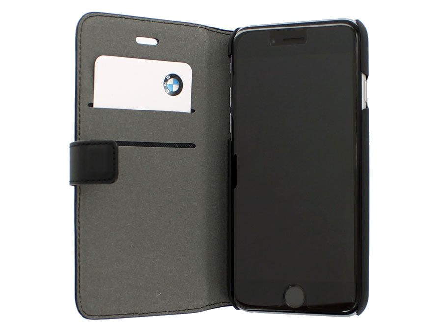 BMW Leather Bookcase - Leren iPhone 8/7 hoesje