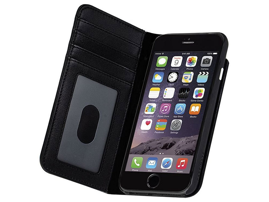 Case Mate Leather Wallet Case - iPhone 8/7/6s hoesje