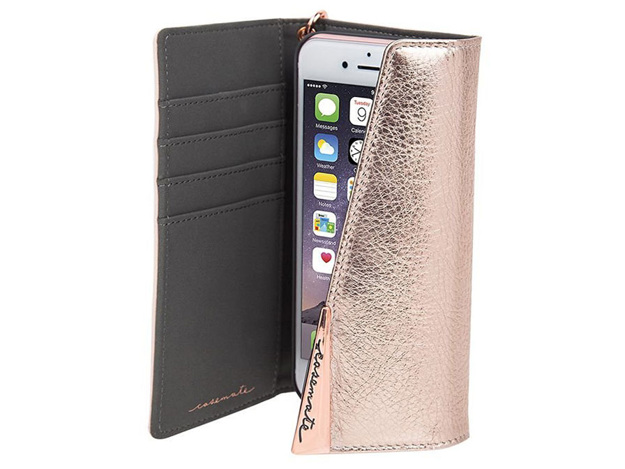 Case Mate Leather Wristlet Folio - iPhone 8/7/6s hoesje
