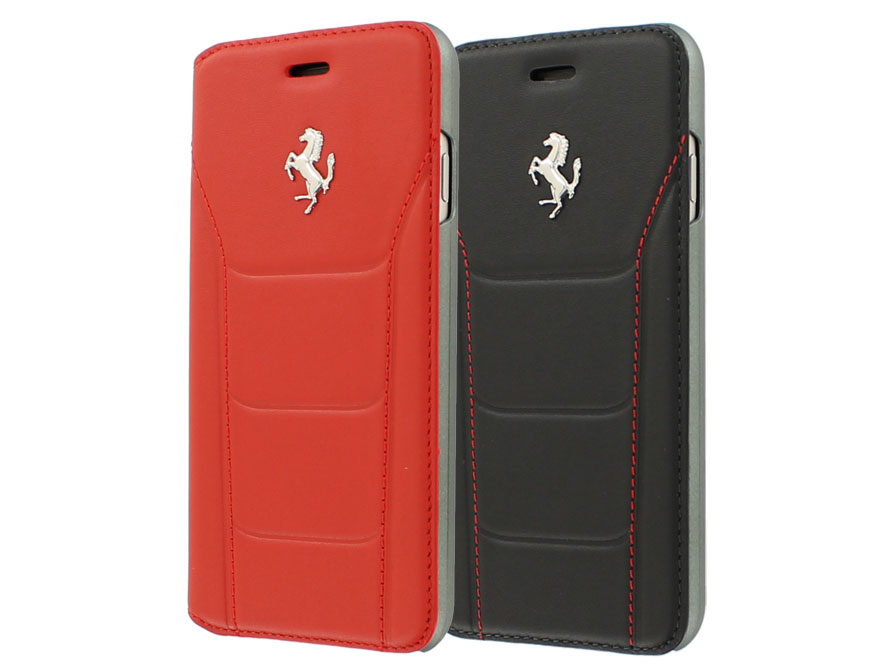 Ferrari 488 Series Bookcase - Leren iPhone 8/7 hoesje