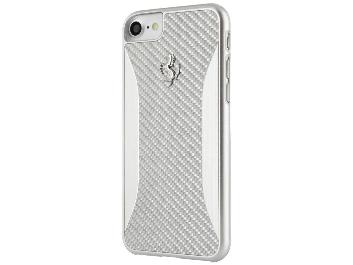 Ferrari GT Carbon Hard Case - iPhone 8/7 hoesje