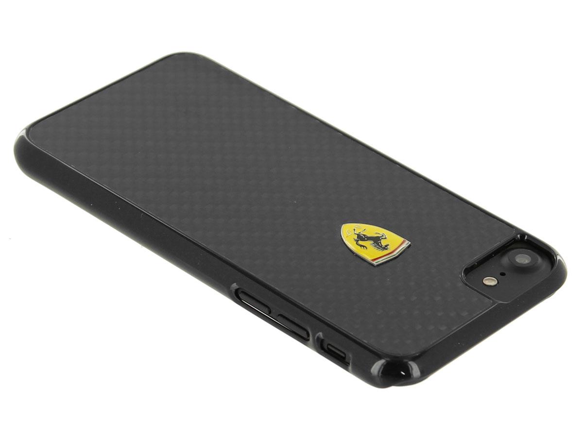 Ferrari Iphone 8 7 6 Hoesje Carbon Fiber Hard Case