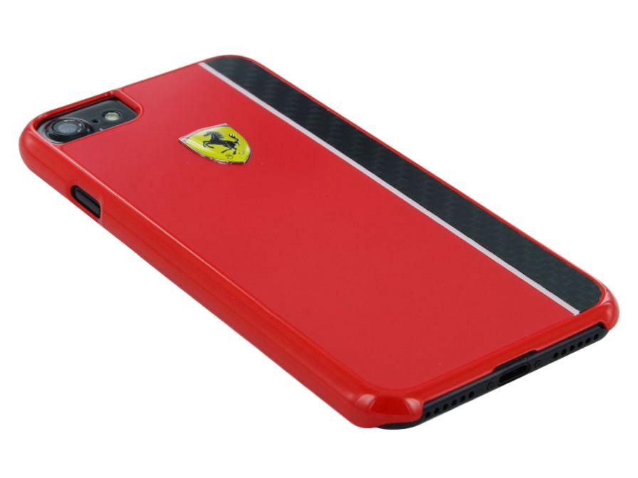 Ferrari Paddock Carbon Hard Case Iphone 8 7 Hoesje