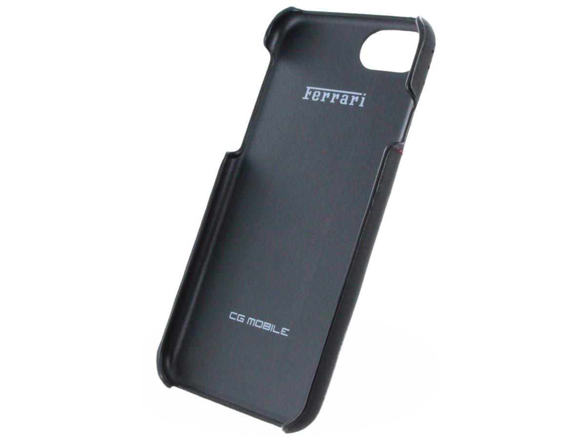 ferrari iphone 8 7 hoesje lusso leather hard case. Black Bedroom Furniture Sets. Home Design Ideas