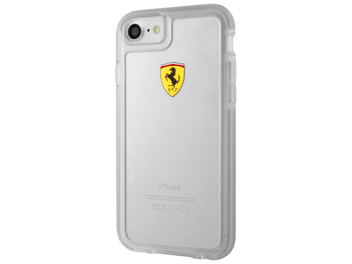 Ferrari Shockproof Rugged Case - iPhone 8/7 Hoesje