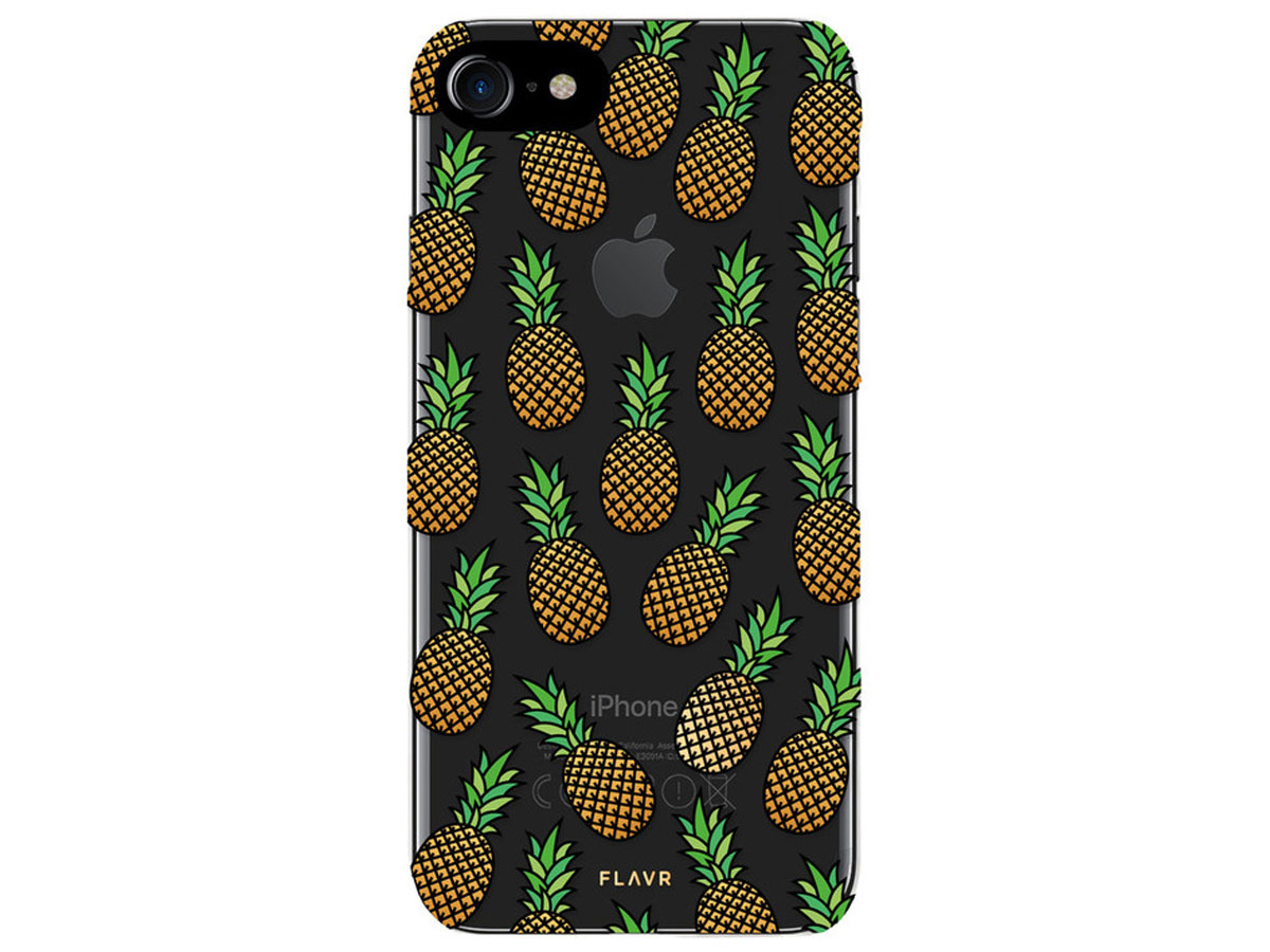 FLAVR Ananas Case - Doorzichtig iPhone 8/7 hoesje