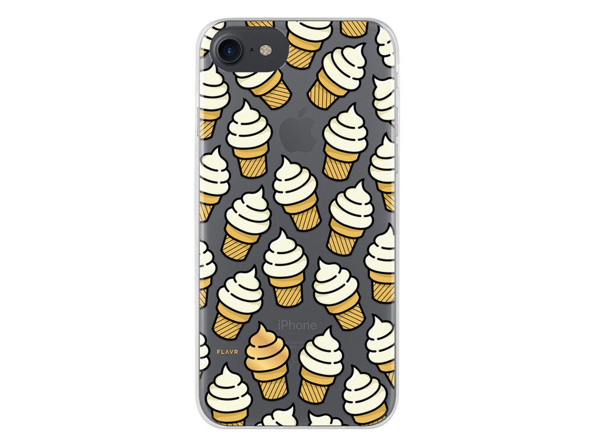 FLAVR Ice Cream Case - Doorzichtig iPhone 8/7/6s hoesje