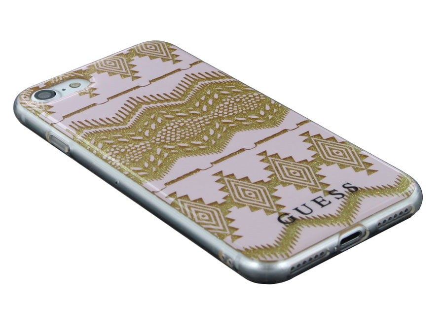 Guess Aztec Tribal Skin - iPhone 8/7 hoesje GUHCP7TGPI