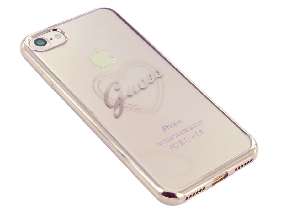 Guess Heart TPU Case - iPhone SE 2020 / 8 / 7 hoesje