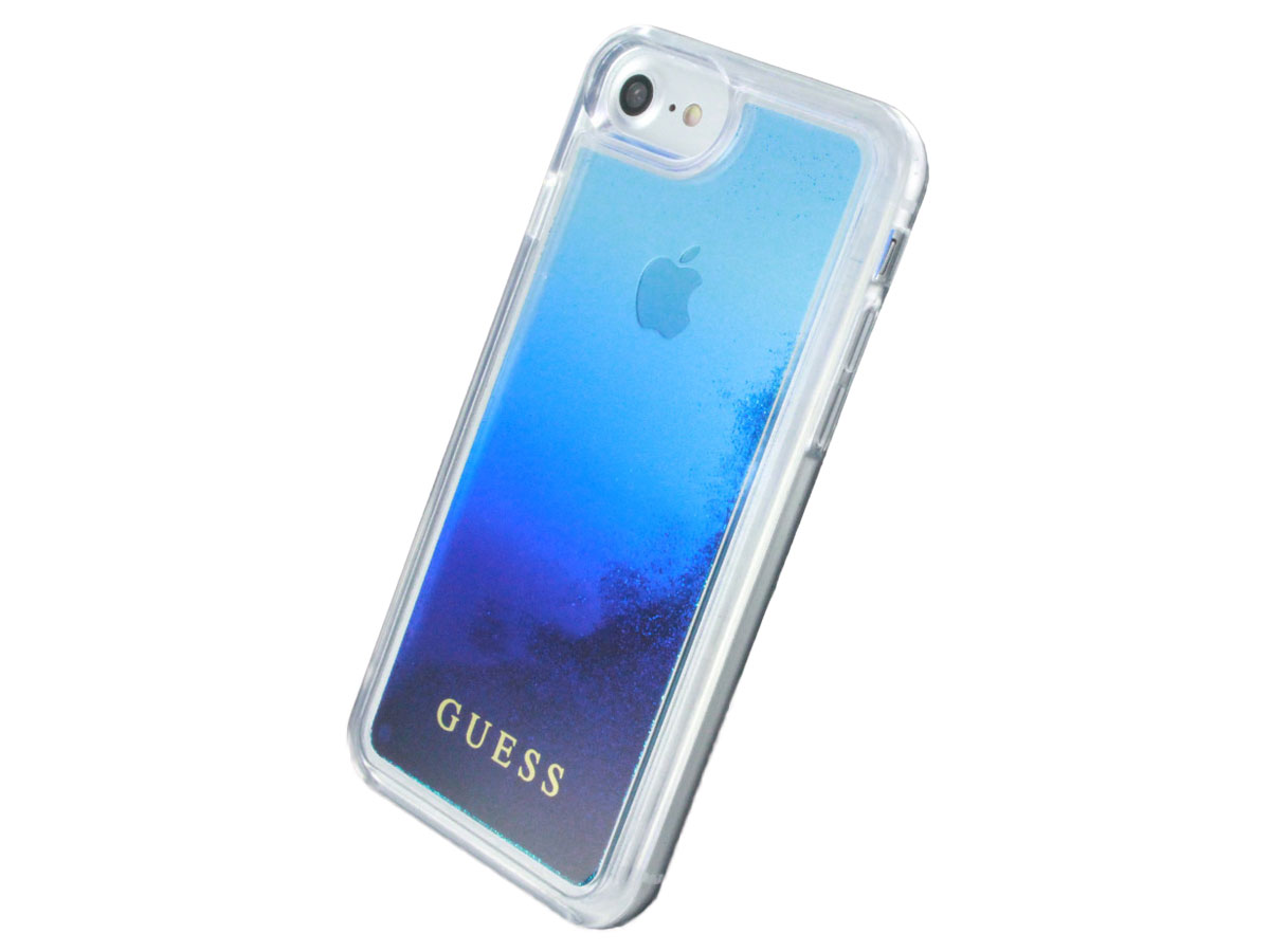 Guess Waterfall Glitter Case - iPhone 8/7/6s hoesje