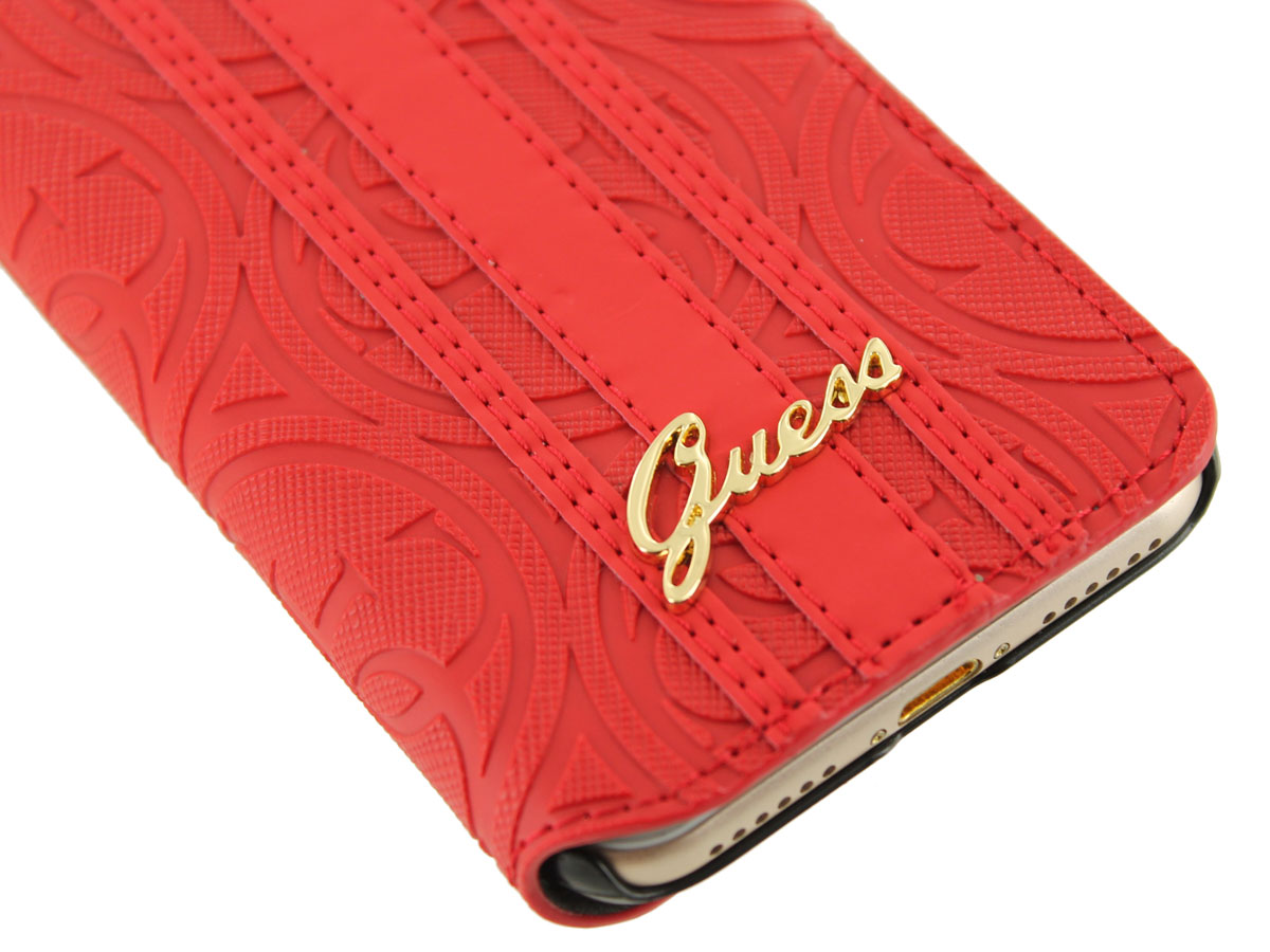 Guess Heritage Bookcase - iPhone 8/7 hoesje