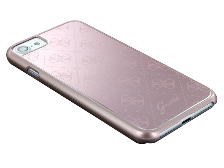 Guess Monogram Aluminium Case - iPhone 8/7 hoesje