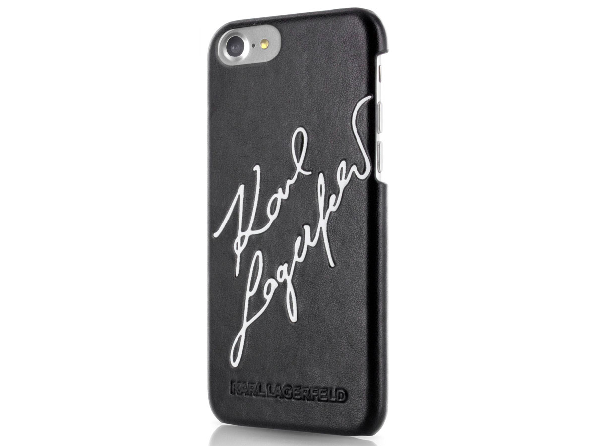 Karl Lagerfeld Signature Case - iPhone 8/7 hoesje