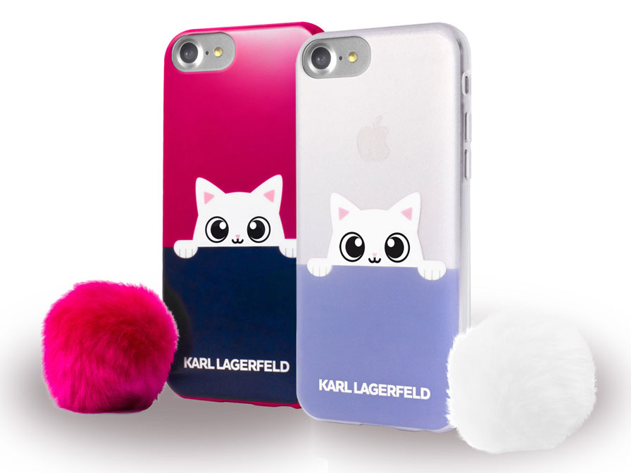 Karl Lagerfeld Peek-A-Boo Case - iPhone 8/7 hoesje