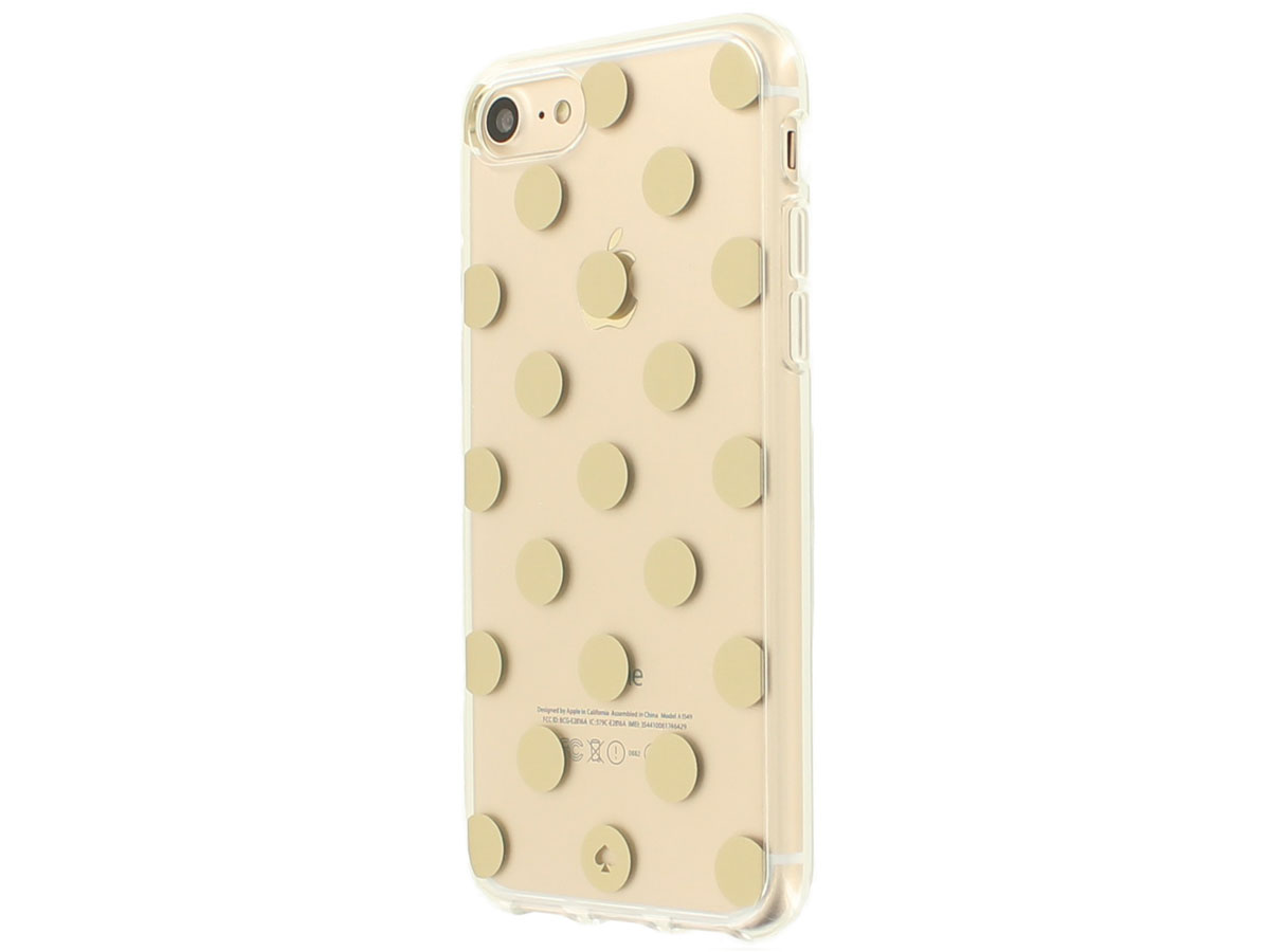 Kate Spade Le Pavillion Clear Case - iPhone 8/7 Hoesje