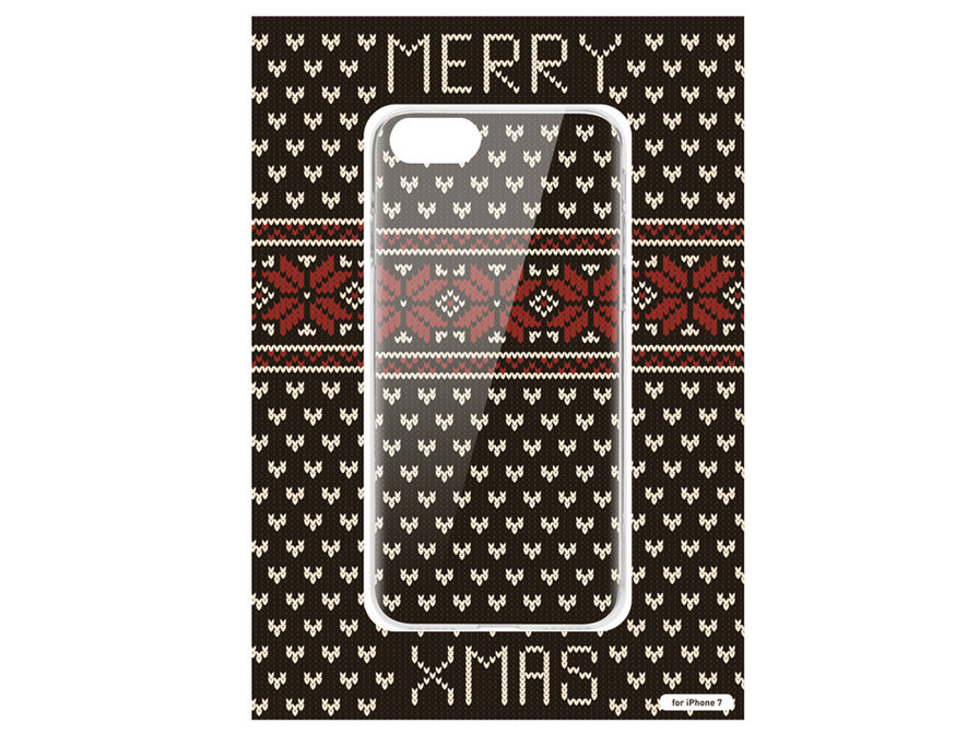 Ugly Christmas Sweater Case - iPhone 7 hoesje (Kerst)