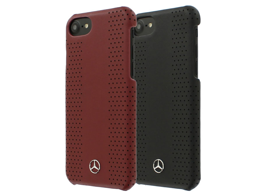 mercedes benz iphone 8 7 hoesje leren case