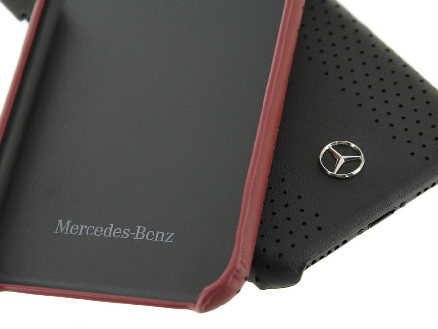 Mercedes benz iphone 8 7 hoesje leren case for How to connect phone to mercedes benz