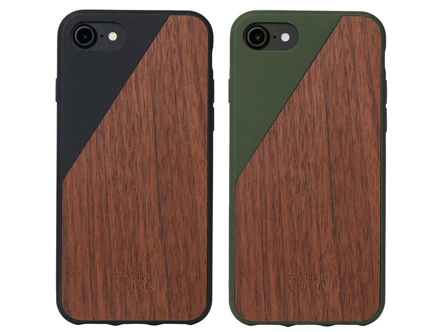 Native Union CLIC Wooden - Houten iPhone 8/7 hoesje