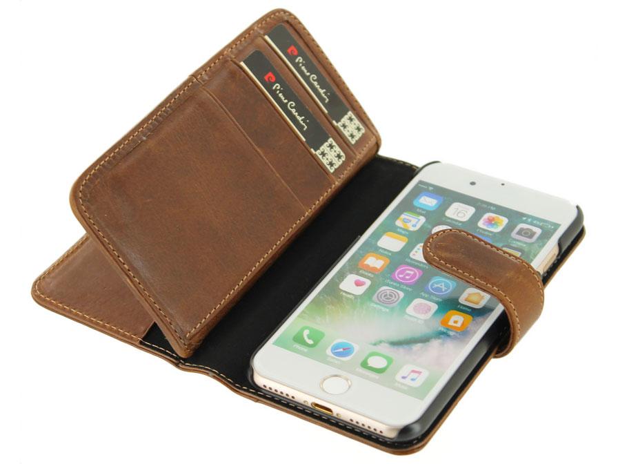 pierre cardin true wallet case iphone 8 7 hoesje leer